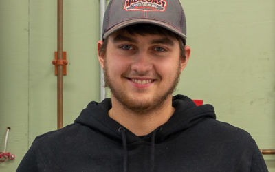 Connor Simmons Graduates from Oil Heat Technician Training