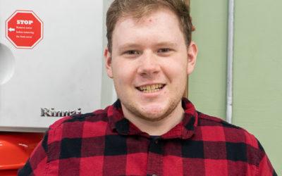 Richard Pillar Graduates from Oil Heat Technician Training