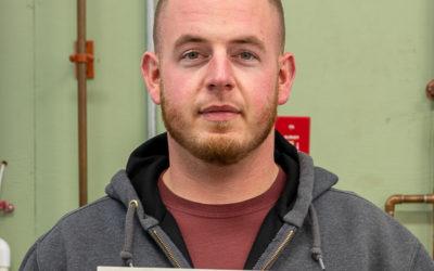 Zack Aubin Graduates from Oil Heat Technician Training
