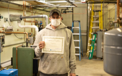 Cody Barter Graduates from Oil Heat Technician Training