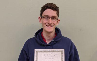 David Brackett Graduates from Oil Heat Technician Training