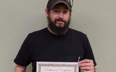 Eric Harvey Graduates from Oil Heat Technician Training