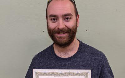 Alex Hinz Graduates from Oil Heat Technician Training