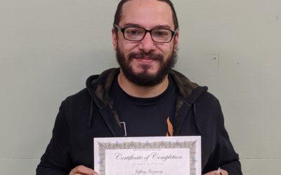 Jeffrey Irizarry Graduates from Oil Heat Technician Training