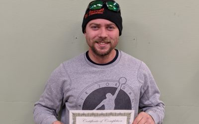 Robert McAndrew Graduates from Oil Heat Technician Training