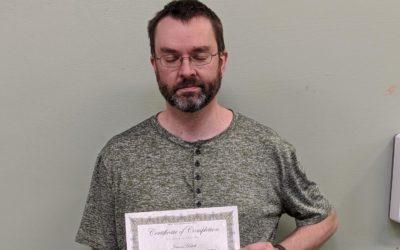 Jason Hatch Graduates from Oil Heat Technician Training